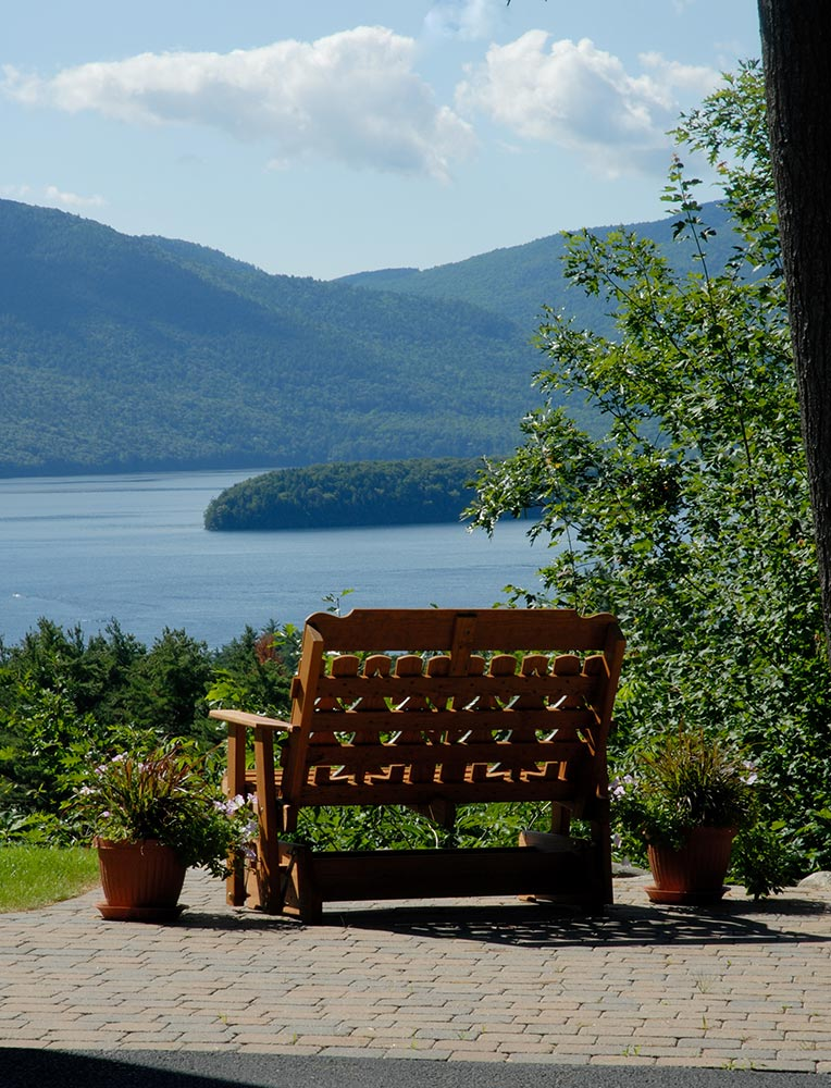 Find your place of peace... at Lake George
